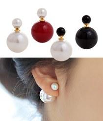 232540 - <ER153-CG18> pearl & pearl earrings