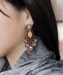 232777 - <ER314-DF14> Avemaria earrings