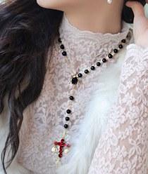 232898 - <NE058-BC18> Panash long necklace