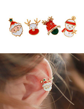 232948 - <EC038-CD10> Little Christmas Ear Curve