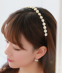 233111 - <HA140-EE04> Tower Flower hairband