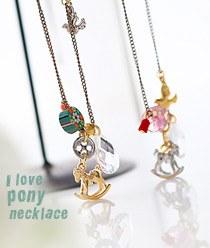 233378 - <NE079-BB09> Alup pony necklace