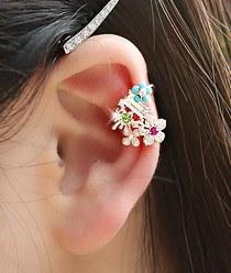 233419 - <EC043-S> [Available] Jane Flower Ear Curve
