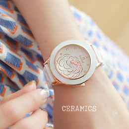 233440 - <WC038-BE11> daisy ceramic watches
