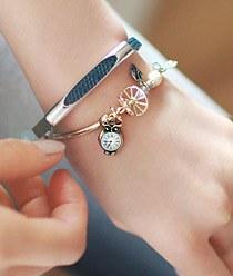236666 - <BC208-HF18> owl city bracelet