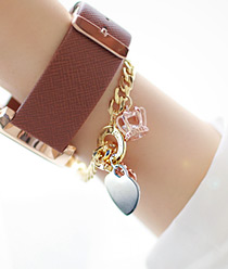 236681 - <JS110-IH19> masstige heart bracelet