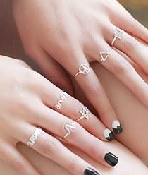 236704 - <SL443-JI10> [Silver] Enjoy Silver ring