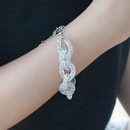 236893 - <BC228-IG14> crystal twist bracelet