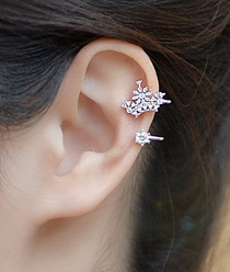 236949 - <EC094-CD21> First lady ear cuff