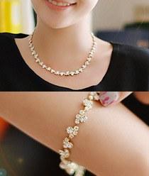 237080 - <JS124-IG06> [bracelet + necklace] fairy queen set