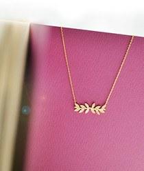 237149 - <NE141-BB01> laurels necklace