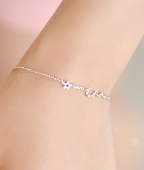 237158 - <BC253-S> [Immediate out of stock] Mini Milky Way bracelet