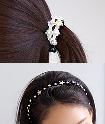 237259 - <HA281-H1> [Same day] [band & pin] Popcorn Hair Item