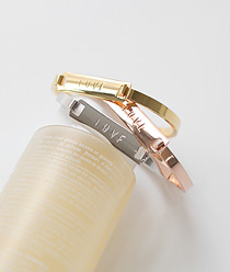 237278 - <BC262-S> LOVE stick bangle bracelet