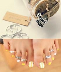 237299 - <RI312-S> [Same day shipping] [It's alright, it's love JiHaesu] Haesoo toe ring