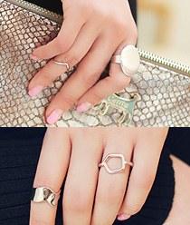 237469 - <RI316-S> [4Piece 1set] Wonderful 4set ring