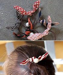 237641 - <HA305-H7> Bunny shh ponytail