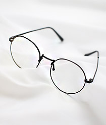 238006 - <FI031-BD09> silhouette round Fashion glasses