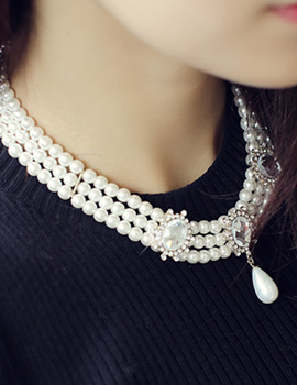238111 - <NE173-IF09> Pearl necklace