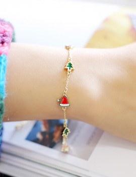 238173 - <BC297-HB24> petit Christmas bracelet
