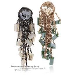 238181 - <ER628-GF01> [handmade] [Silver Post] Margaret earrings