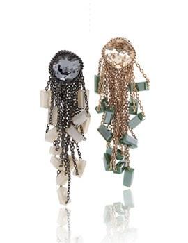 238219 - <ER628-GF01> [handmade] [clip type] Margaret earrings