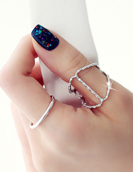 238322 - <RI368-JC09> [punch] [2Piece 1set] individual ring