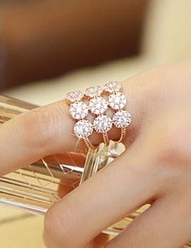 887543 - <RI377-AE12> gorgeous Flower ring