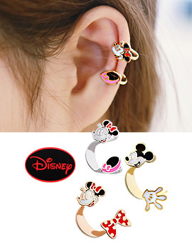 888078 - [SALE] [Genuine Disney] Mickey & Mini Earcup