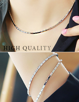 893676 - <JS148-IF03> [high quality] luxury square chain set