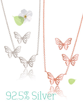 1043306 - <NE204-IF10> [Silver] milk butterfly set