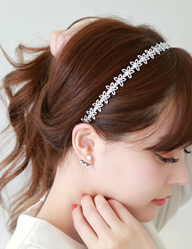 1043309 - <HA369-EG02> romantic Flower hairband