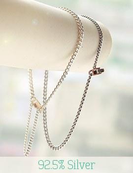 1043328 - <BC338-BA05> [Silver] daily it bracelet