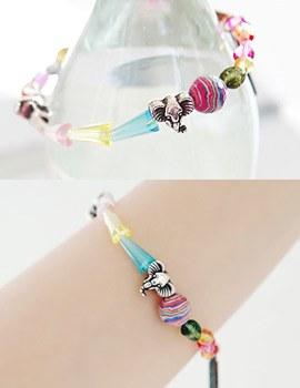 1043369 - <BC349-HE14> indie crystal bracelet