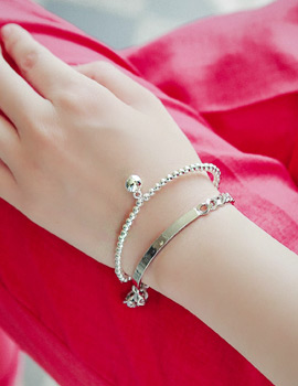 1043397 - <BC359-HC24> [2Piece 1set] two flying bracelet