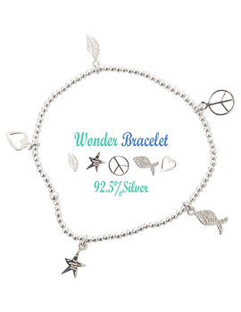 1043424 - <BC366-HB14> [Silver] wonder Silver bracelet