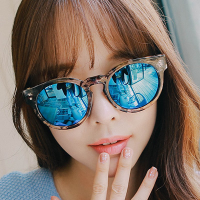 1043426 - <FI067-CA00> [Out of stock] leopard reflect sunglass