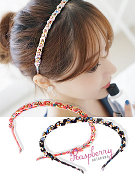 1043476 - <HA381-FF07> raspberry hairband