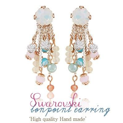 1043484 - <ER761-GE23> [Swarovski] bonpoint earrings