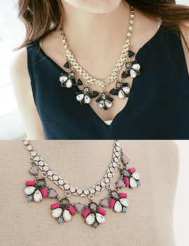 1043500 - <NE217-BB08> atrio necklace