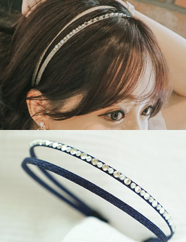 1043530 - <HA385-H6> mon cheri double hairband