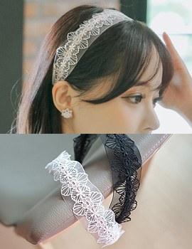 1043542 - <HA387-H3> Kinder lace hairband