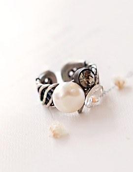 1043616 - <RI456-AB13> ethnic pair ring