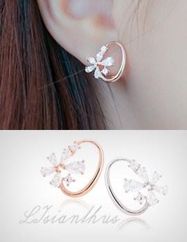 1043627 - <ER791-DB15> lysianshus earrings