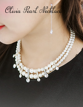 1043676 - <NE240-IB02> Olivia pearl necklace