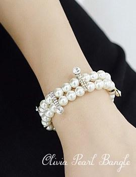 1043677 - <BC428-IB02> Olivia pearl bracelet