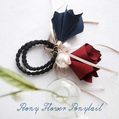 1043682 - <HA397-EC06> Flower ponytail