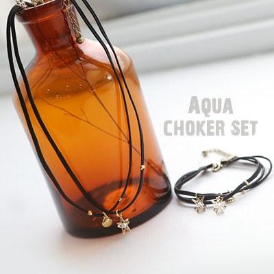 1043708 - <JS171-IH08> Aqua choker set