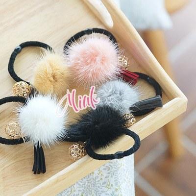 1043755 - <HA402-h8> amber mink ponytail