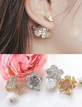 1043769 - <ER825-CH10> Elicia tribale earrings